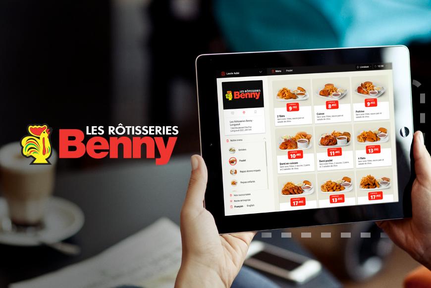 Les Rôtisserie Benny - Commande en ligne