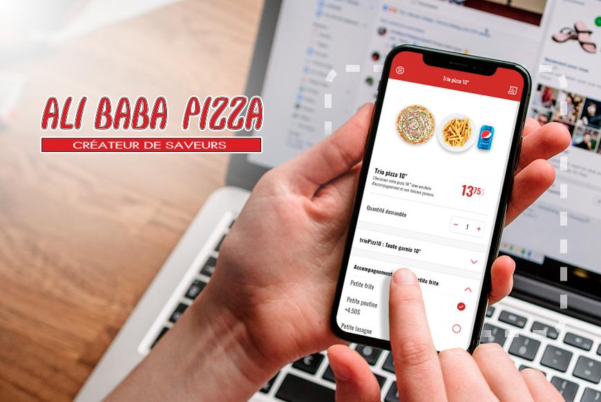 Ali Baba Pizza - Commande en ligne
