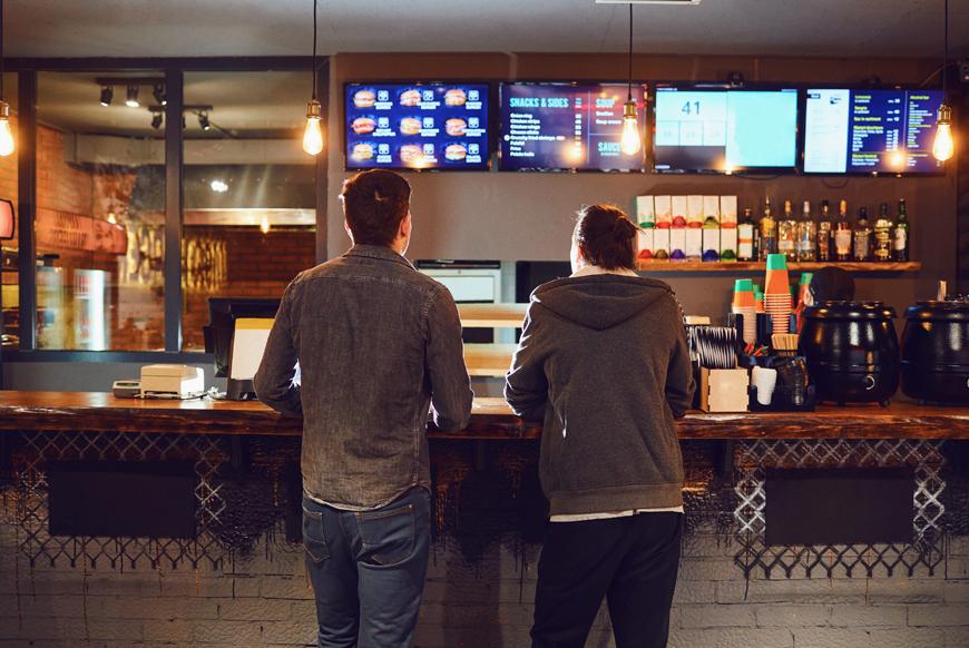 iShopFood - Présentez votre menu grâce à l'affichage numérique!