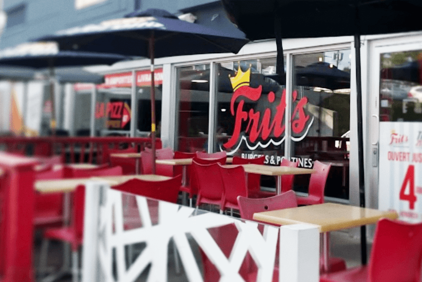 La commande en ligne chez Frit's